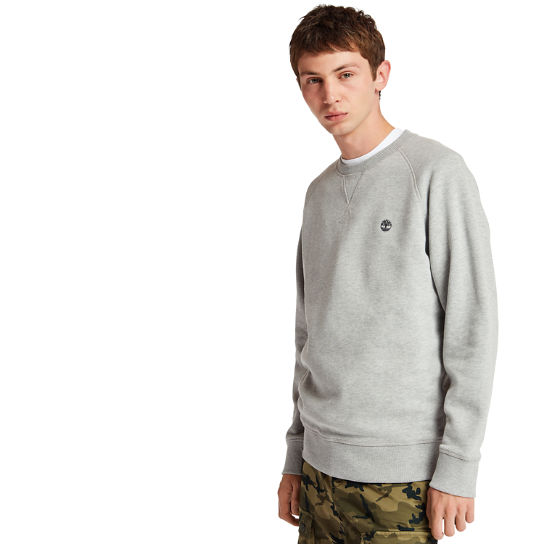Exeter River Crew Neck Sweatshirt for Men in Grey | Timberland