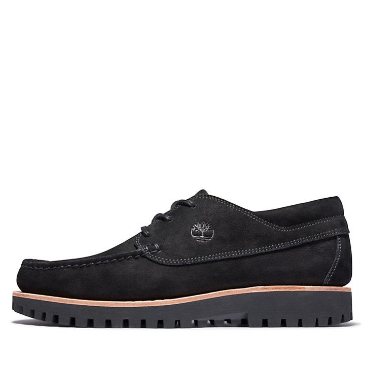 Chaussure bateau Jackson's Landing pour homme en noir-