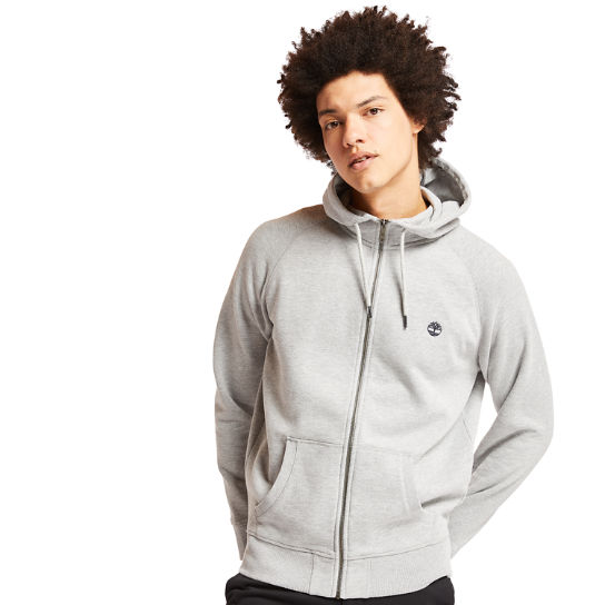 Exeter River Zip Up Top for Men in Grey | Timberland