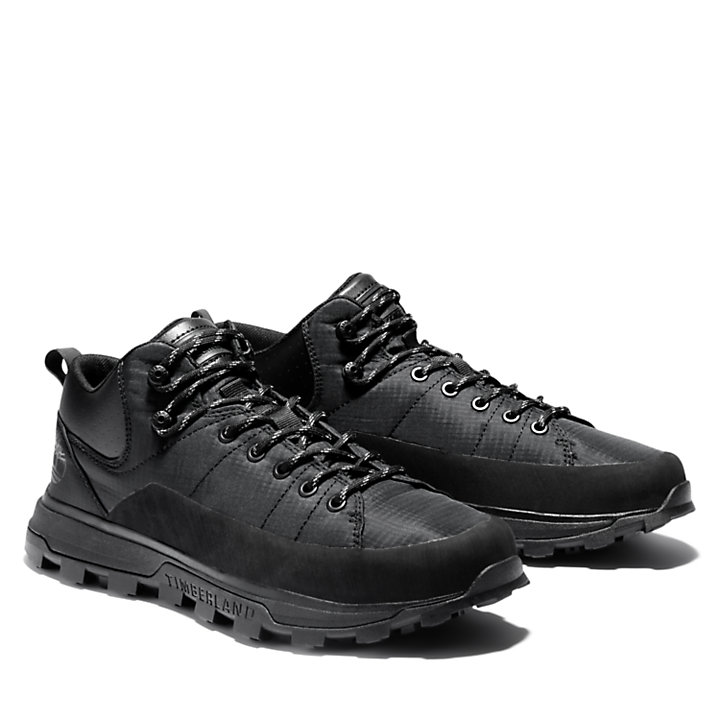 National Geographic x Timberland® Treeline Sneaker for Men in Monochrome Black-