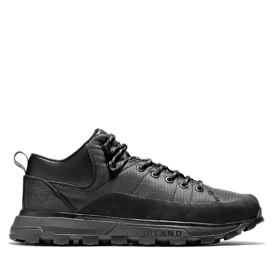 National Geographic x Timberland® Treeline Sneaker for Men in Monochrome Black | Timberland
