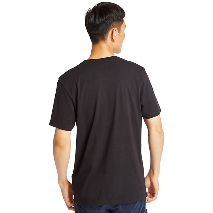 Kennebec River Timberland® T-Shirt for Men in Black-