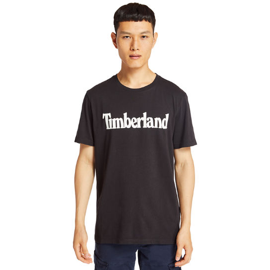 Kennebec River Timberland® T-Shirt for Men in Black | Timberland