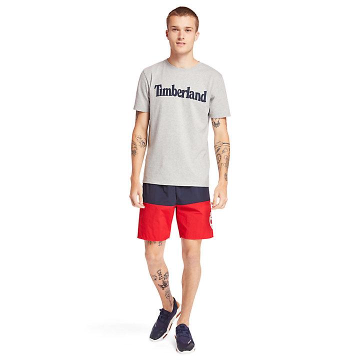 T-shirt Kennebec River Timberland® pour homme en gris-