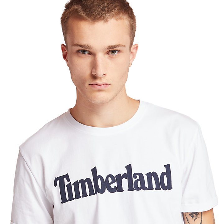 Kennebec River Timberland® T-Shirt for Men in White-