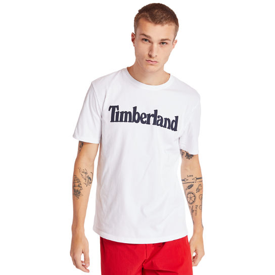 Kennebec River Timberland® T-Shirt for Men in White | Timberland