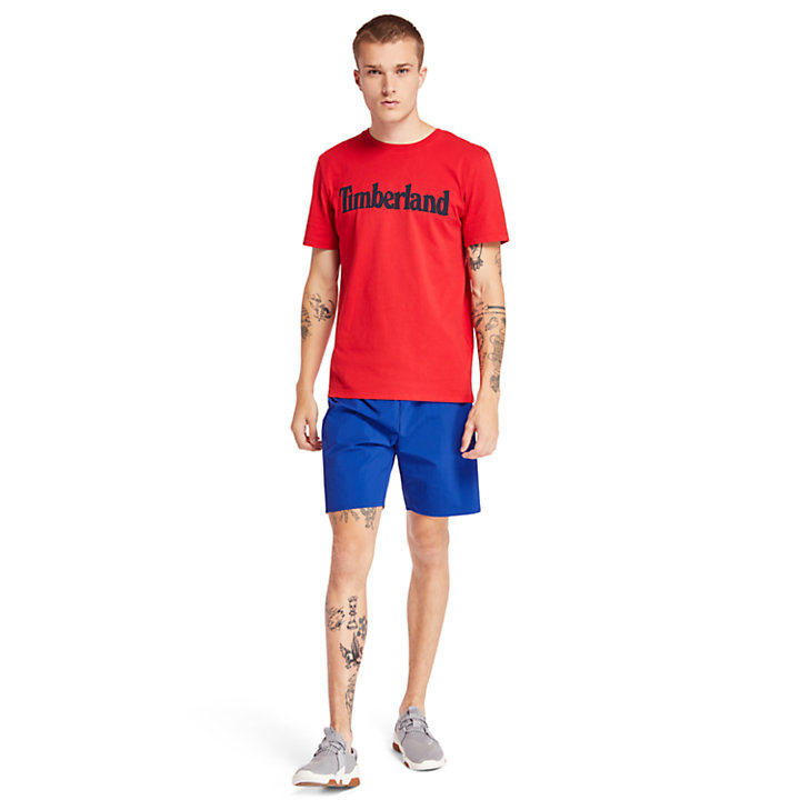 Kennebec River Timberland® T-Shirt for Men in Red-