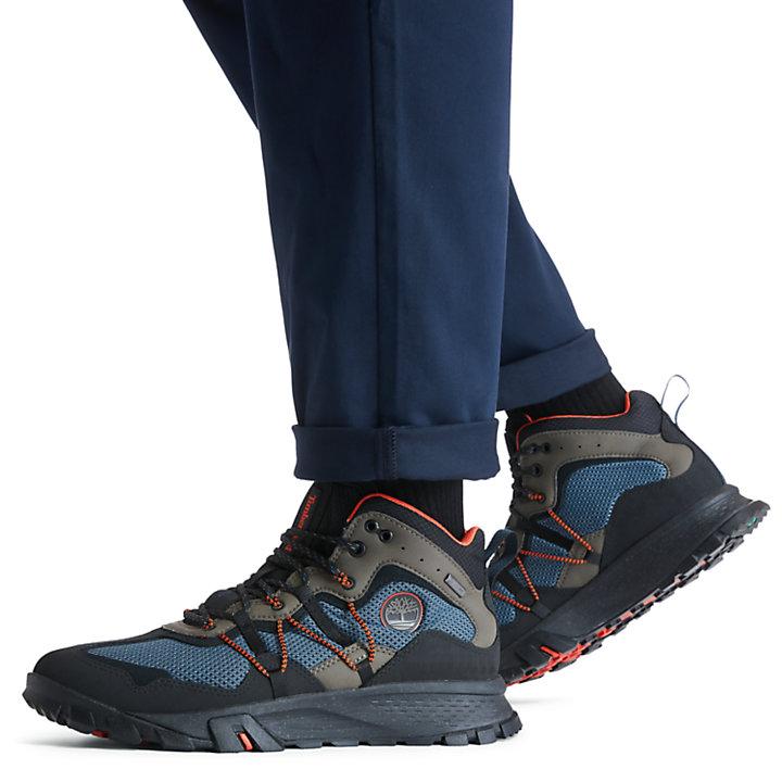Garrison Trail Mid Hiker for Men in Dark Blue-