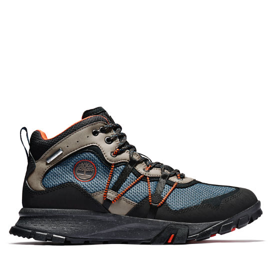 Garrison Trail Mid Hiker for Men in Dark Blue | Timberland