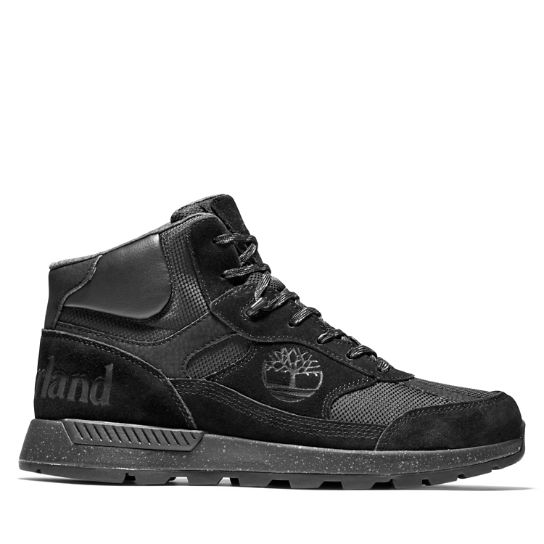 Field Trekker Mid Hiker for Men in Black | Timberland