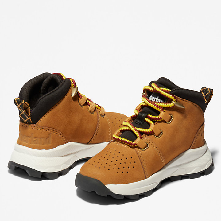Brooklyn Alpine Chukka Boot for Toddler in Brown-