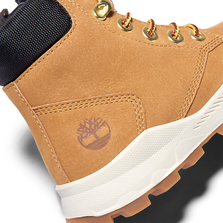 Brooklyn High Top Boot for Junior in Yellow-