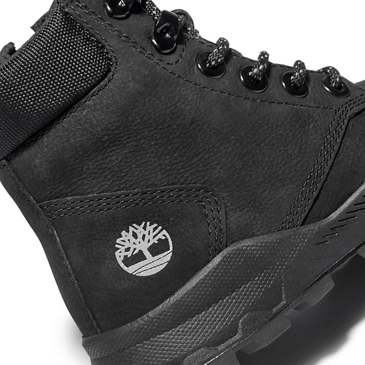 Bottine Brooklyn High Top junior en noir-