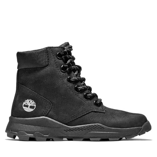 Bottine Brooklyn High Top junior en noir | Timberland