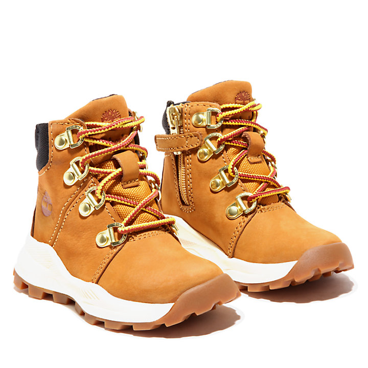 Brooklyn Hiking Boot for Toddler in Yellow-