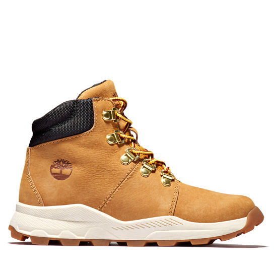 Brooklyn Hiker for Junior in Yellow | Timberland