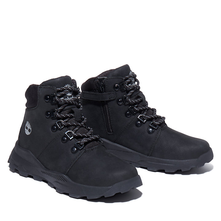 Brooklyn Hiking Boot for Junior in Black-