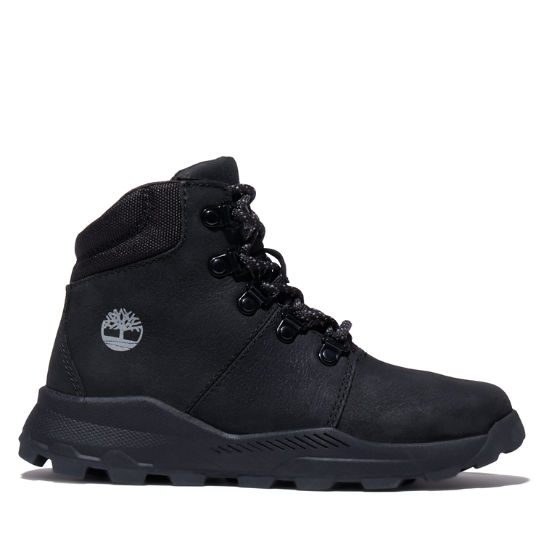 Brooklyn Hiking Boot for Junior in Black | Timberland