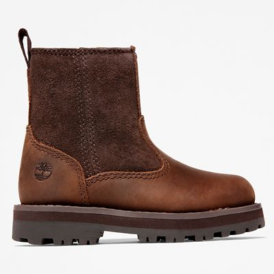 Courma+Kid+Warm+Boot+for+Toddler+in+Dark+Brown