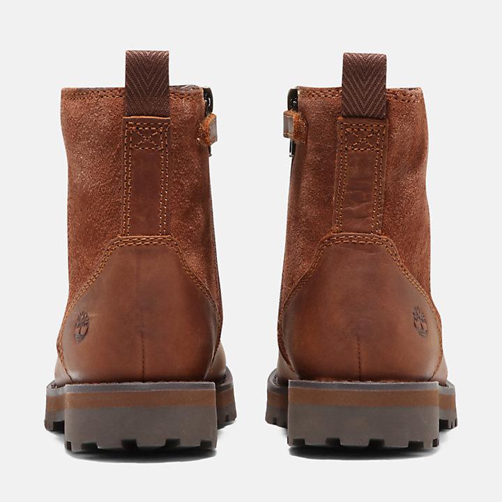 Courma Boots mit Fleecefutter für Kleinkinder in Braun-