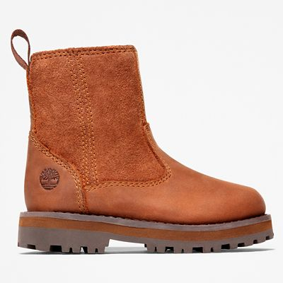 Courma+Kid+Warm+Boot+for+Toddler+in+Brown