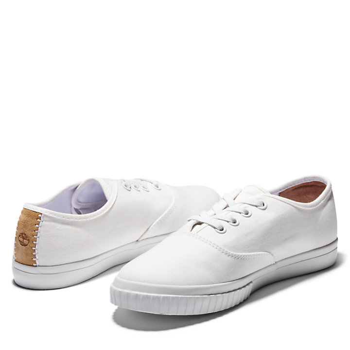Newport Bay Oxford for Women in White-