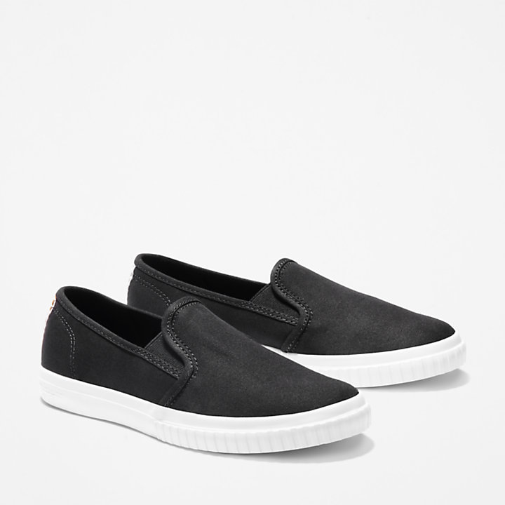 Scarpa Slip-On da Donna Newport Bay in colore nero-
