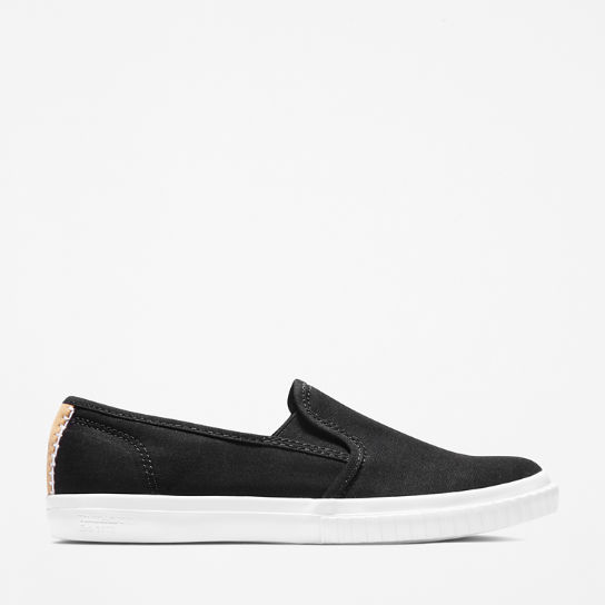Newport Bay Slip-On Schoen voor Dames in zwart | Timberland