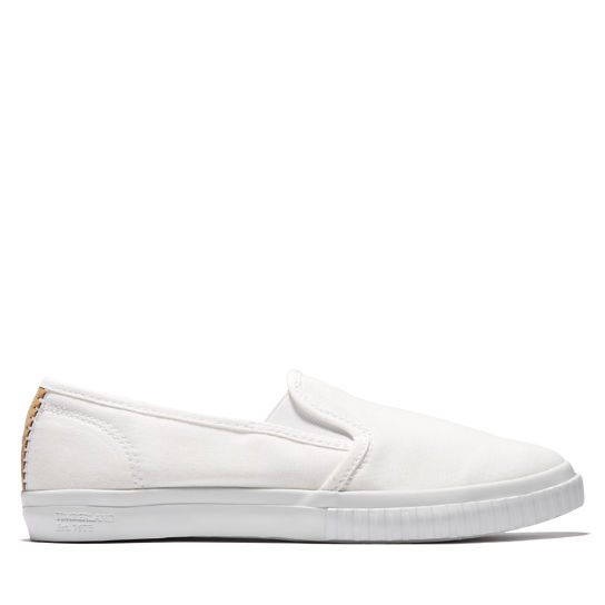 Scarpa Slip-On da Donna Newport Bay in bianco | Timberland