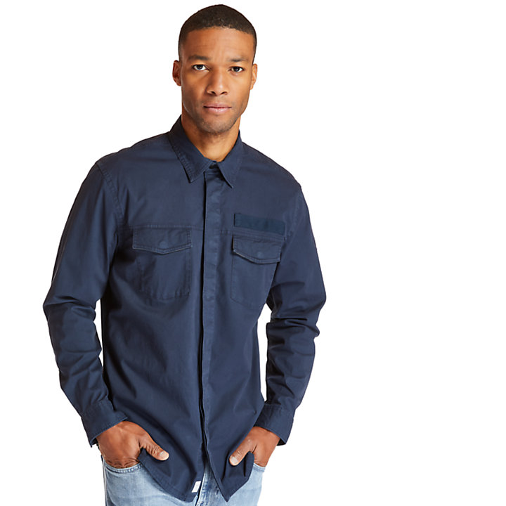 Smith River Overshirt for Men in Navy-
