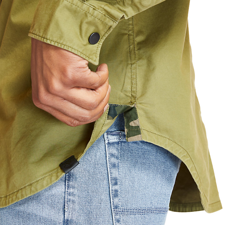 Smith River Overshirt for Men in Green-