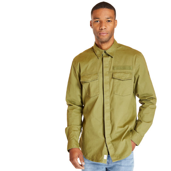 Smith River Overshirt for Men in Green | Timberland