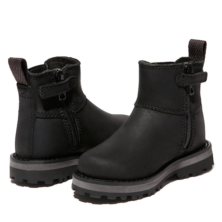 Courma Kid Chelsea Boot for Toddler in Black-