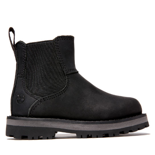 Courma Kid Chelsea Boot for Toddler in Black | Timberland