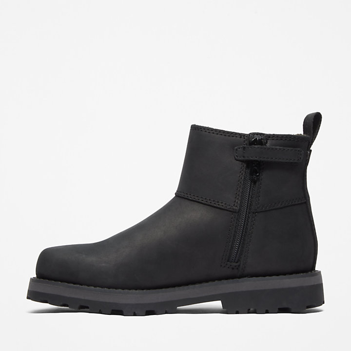 Courma Kid Chelsea Boot for Junior in Black-