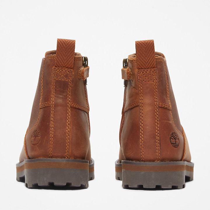 Courma Kid Chelsea Boot voor Junior in bruin-
