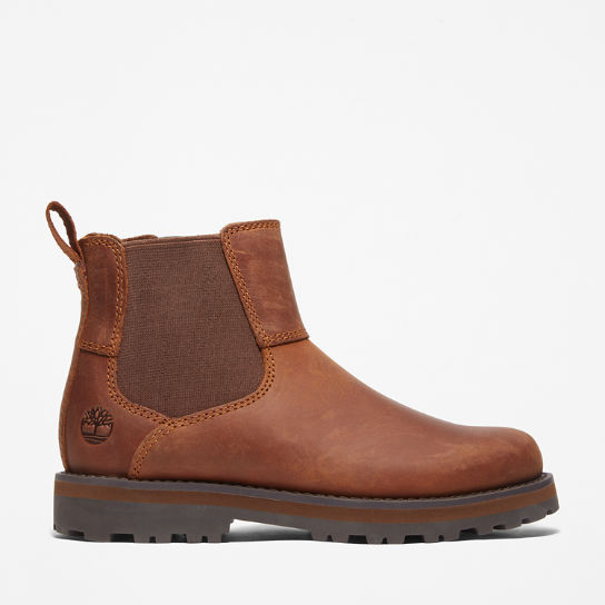 Courma Kid Chelsea Boot for Junior in Brown | Timberland