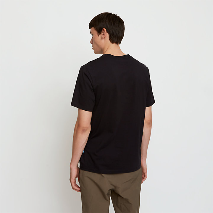 Timberland® x WoodWood T-Shirt for Men in Black-