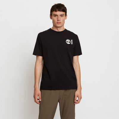 Timberland%C2%AE+x+WoodWood+T-Shirt+for+Men+in+Black