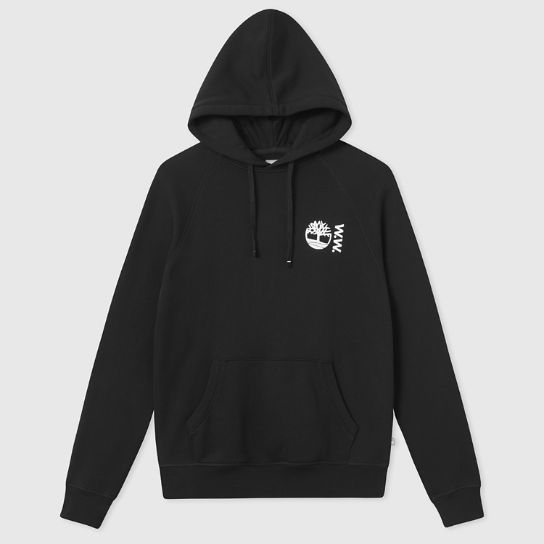 Timberland® x WoodWood Hoodie for Men in Black | Timberland