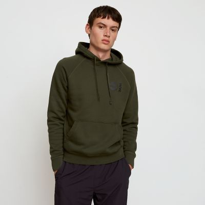 Timberland%C2%AE+x+WoodWood+Hoodie+for+Men+in+Green