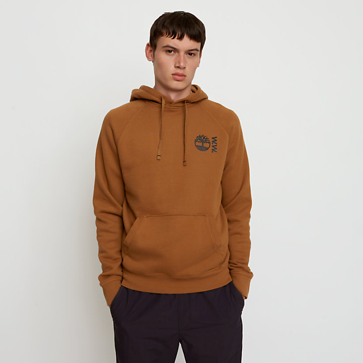 Timberland® x WoodWood Hoodie for Men in Brown-