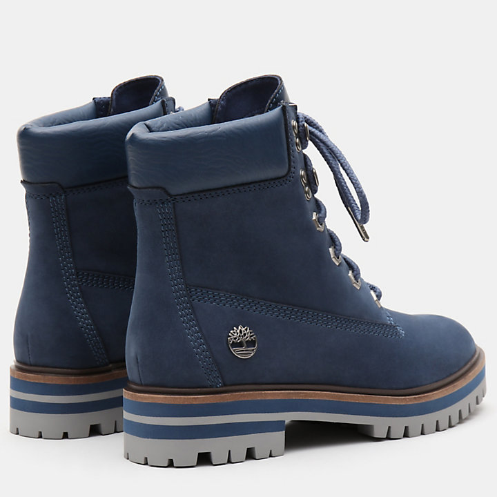 London Square 6 Inch Boot for Women in Navy-