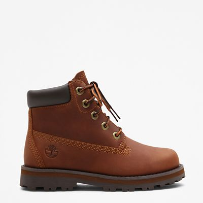 Courma+Kid+6+Inch+Boot+for+Toddler+in+Brown