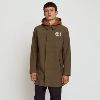 Timberland%C2%AE+x+WoodWood+CLS+Raincoat+for+Men+in+Greige