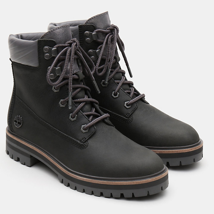 London Square 6 Inch Boot voor Dames in donkergroen-