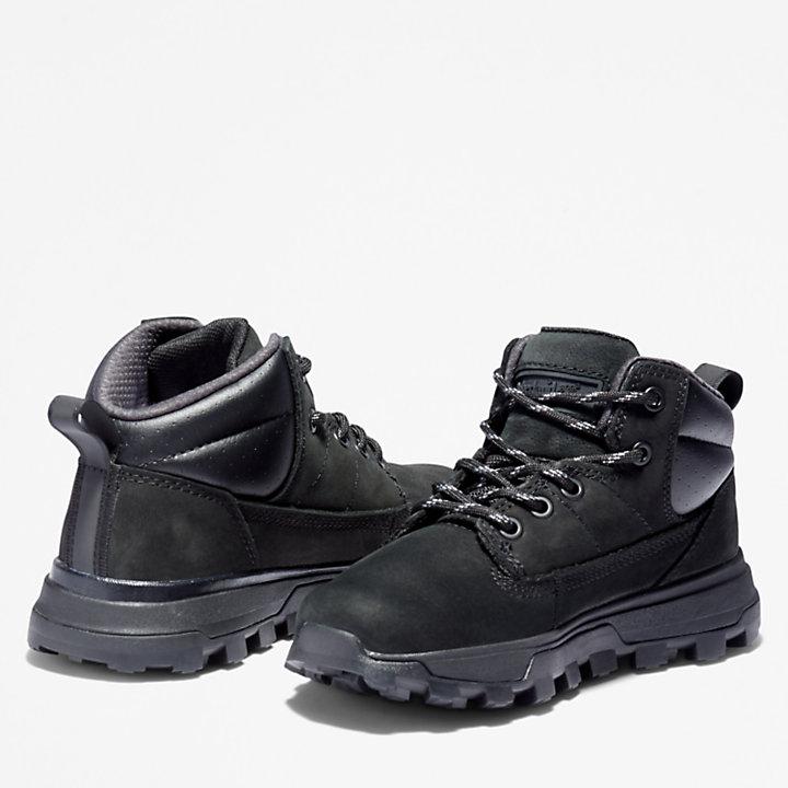Botas de Montaña de Media Caña Treeline para niño (de 30,5 a 35) en color negro-
