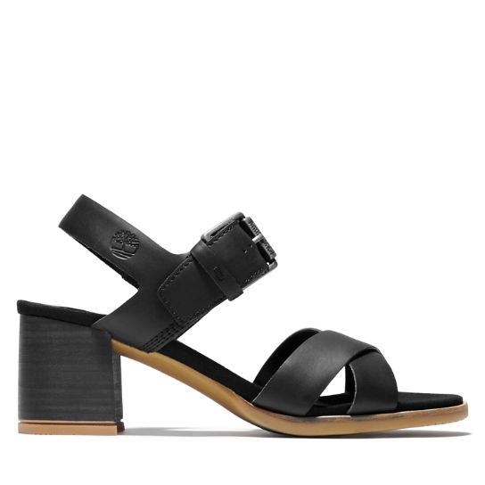 Tallulah May Sandal for Women in Black | Timberland