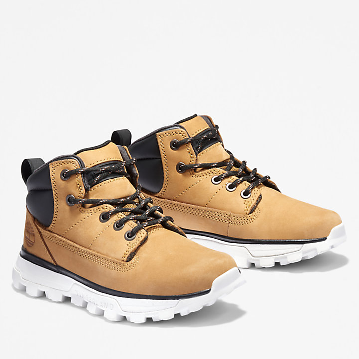 Treeline Mid Hiker for Youth in Yellow-