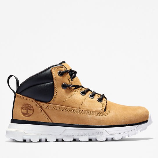 Treeline Mid Hiker for Youth in Yellow | Timberland